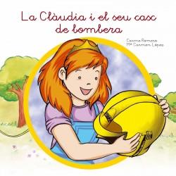 La Clàudia i el seu casc de bombera